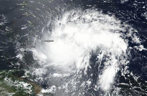 nasa analyzes tropical storm dorian day  night