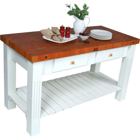 cherry butcher block island kitchen islands grazzi kitchen island with cherry butcher block top by john boos