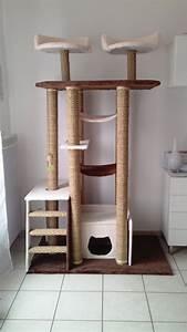 Arbre À Chat Pour Gros Chat : arbre a chat en palette ~ Nature-et-papiers.com Idées de Décoration