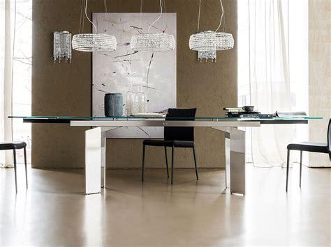 cattelan italia glas tisch ausziehbar elan drive kaufen borono