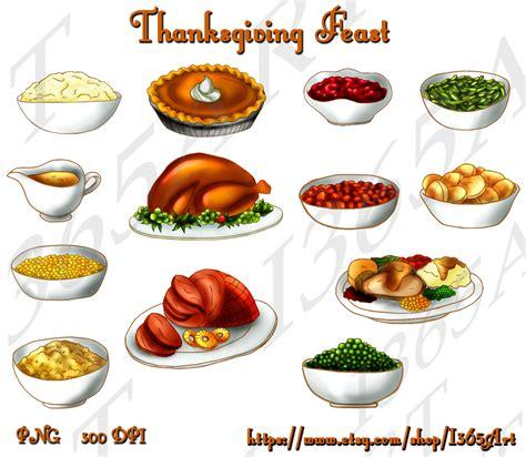 thanksgiving day food thanksgiving turkey dinner drawing