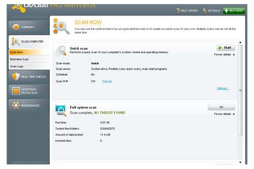 rápido antivirus baixar gratuito 2013
