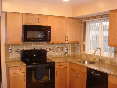 Kitchen Backsplash Subway Tile Interior Design