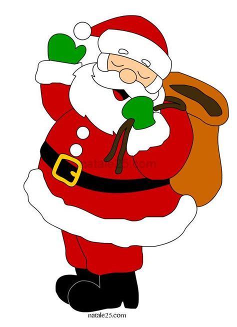 Clipart Babbo Natale Babbo Natale Con Sacco Doni Natale 25
