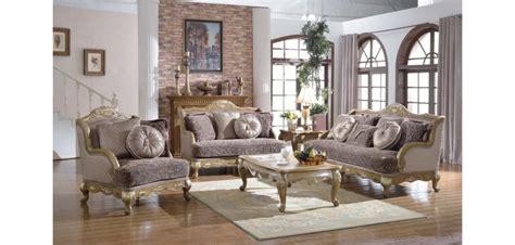 provincial living room set 606 provincial living room set in gold