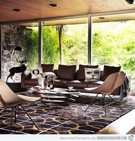 15 relaxing brown and tan living room designs fox home