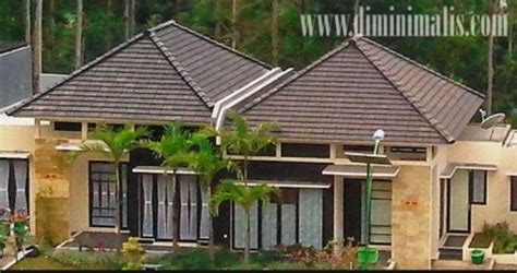 atap limasan memang  rancangan rumah minimalis
