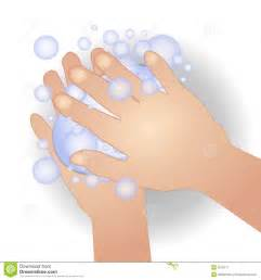 Soapy Hands Clip Art