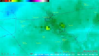 Fire Satellite Texas Noaa Infrared Viirs Deer
