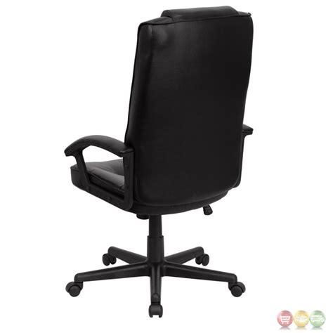 high back black leather executive office chair go 7102 gg