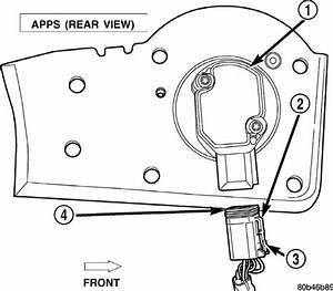 2004 Dodge Ram 3500  Diagram  Bell Crank  Throttle Positioning Sensor