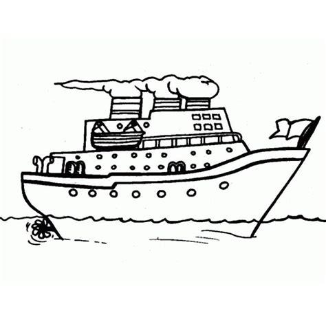 Bateau Mouche Gratuit Pour Anniversaire le coloriage bateau de croisiere pour imprimer bricolage