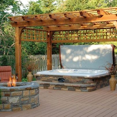 Hot Tub and Fire Pit Idea