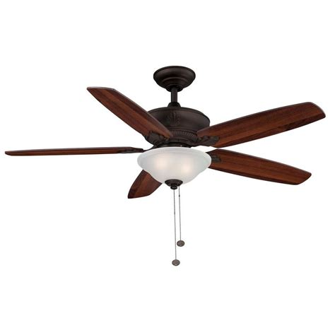 hton bay ceiling fan replacement glass bowl hton bay lagano 52 quot rubbed bronze ceiling fan