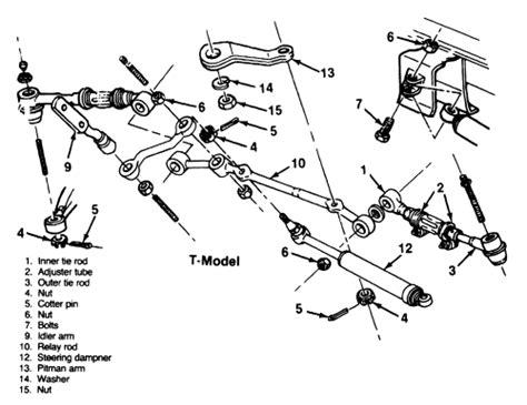 S10 4wd Suspension Diagram by 1997 Dodge Ram Truck Dakota 2wd 3 9l Fi Ohv 6cyl Repair