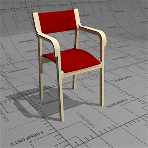 salus chairs for senior citizens 3d model formfonts 3d