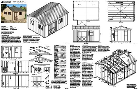 backyard garden gable garden storage shed plans