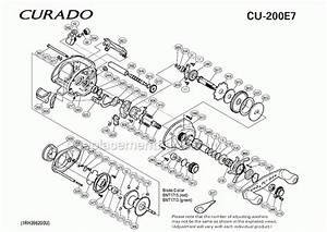 Shimano Calcutta 200 Parts Diagram