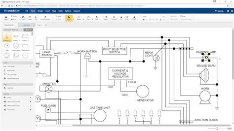 draw electrical diagrams  smartdraw youtube