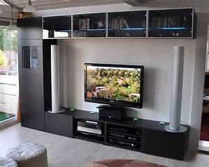 Küchen Regale Ikea : ikea wohnwand selber zusammenstellen ~ Markanthonyermac.com Haus und Dekorationen