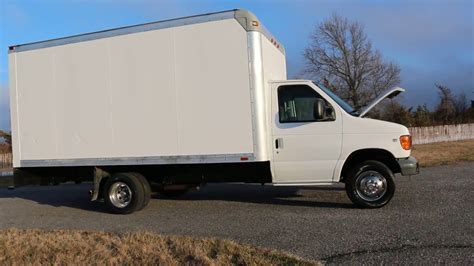 sold  ford  econoline ft box truck  sale