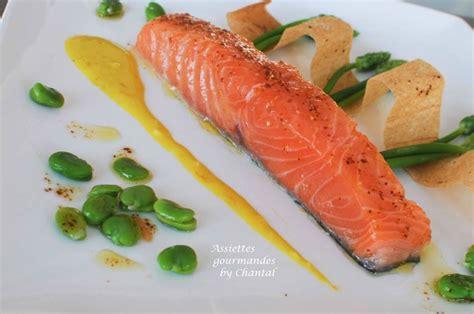 cuisiner des pois gourmand asperges des bois saumon et sauce à l orange