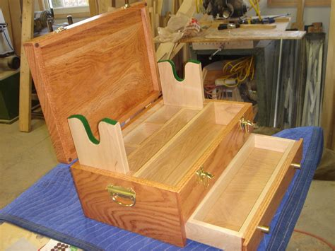 woodwork woodworking plans gun cleaning box  plans