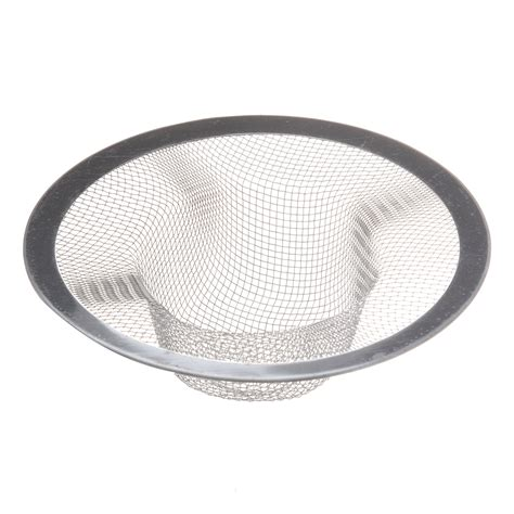 mesh sink strainer with stopper 25s8 kitchen basket drain garbage stopper metal mesh sink