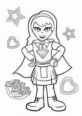 Coloring Supergirl Dc Hero Lego Printable Superhero Dibujos Colorare Colorear Disegni Simple Kolorowanki Sheet Cartoon Disney Drawing A4 Dibujosonline sketch template