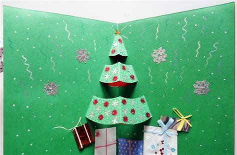 Popup Weihnachtskarten Selbst Gestalten Und Dekorieren