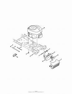 Mtd 13al78st099  247 288851   2011  Parts Diagram For Engine Accessories