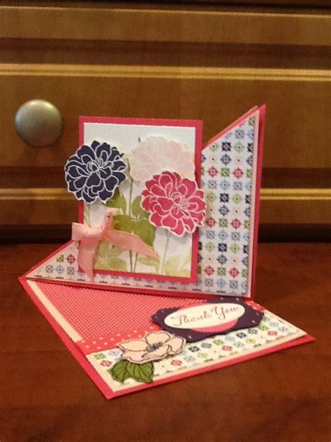 Triangle Fold Easel Card