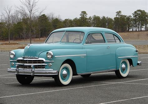 1949 Dodge Wayfarer 2door Sedan  Dodge 1930 1949