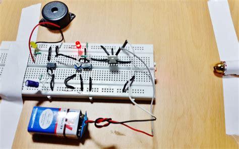 Laser Security Alarm Circuit Diagram Using