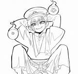 Coloring Hanako Kun Toilet Bound Yashiro Funny Manga Nene Moments Anime Jibaku Coloringhome sketch template