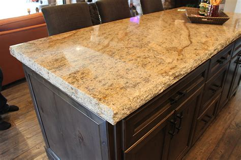 countertop traditional family room