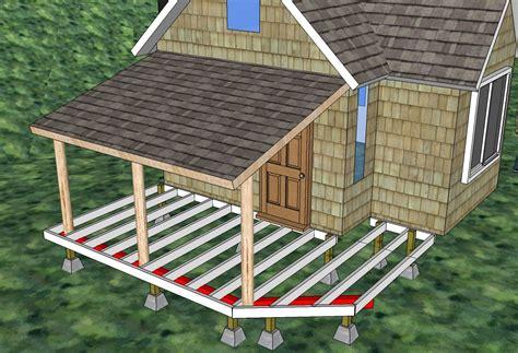deck plans cabins building cabin deck time lapse solar burrito