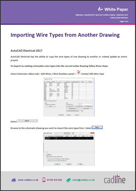autocad electrical 2017 importing wire types from another drawing cadline community