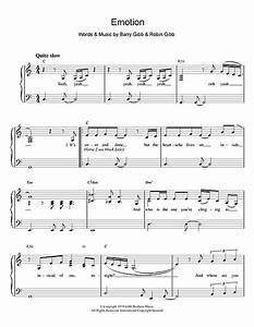 Destiny's Child - Emotion sheet music