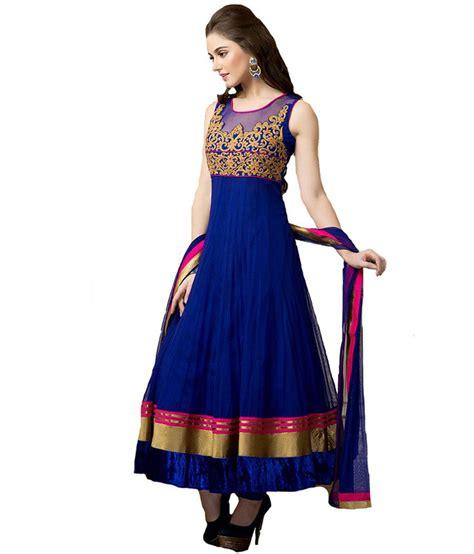 aishwarya design studio aishwarya design studio mesmerizing blue color anarkali