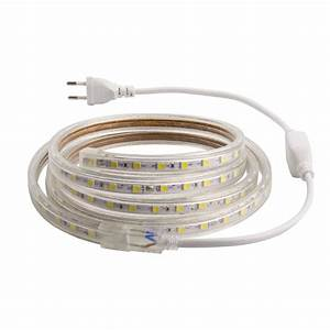 Ruban A Led : ruban led 220v ac smd5050 60 led m 2 m tres ledkia france ~ Edinachiropracticcenter.com Idées de Décoration