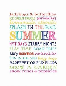 Free Summer Pri... Fun Seasonal Quotes
