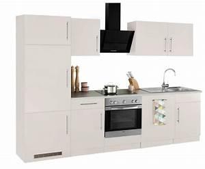 Küchenzeile 280 Cm : k chenzeile cali mit e ger ten breite 280 cm otto ~ Frokenaadalensverden.com Haus und Dekorationen