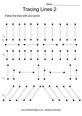 tracing printables tracing lines preschool worksheets