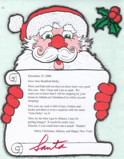 personalized letters  santa claus