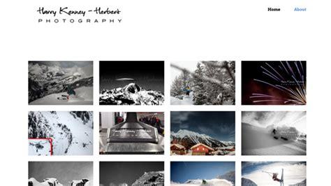 portfolio photography websites  themes wordpresscom