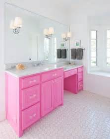 think pink 5 girly bathroom ideas best friends for frosting - Vintage Black And White Bathroom Ideas