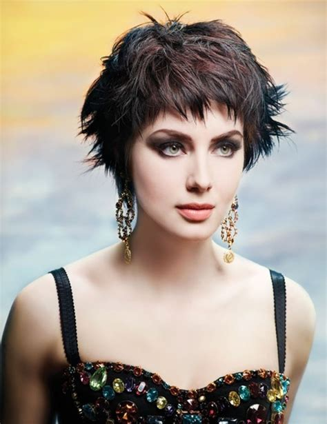 When looking for a suitable. Short Cropped Hairstyle: Messy Haircuts - PoPular Haircuts