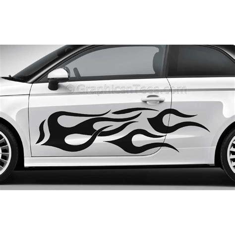 custom vinyl lettering decals car graphics flames custom car stickers vinyl graphic
