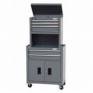 hdx 26 in 5 drawer tool chest and cabinet combo with With what kind of paint to use on kitchen cabinets for hanging crystal candle holders